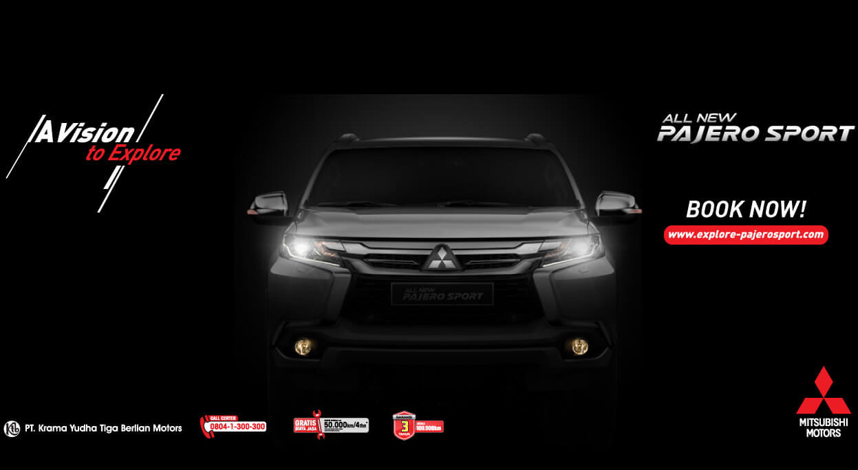 Book All New Pajero 2016 Now!!!
