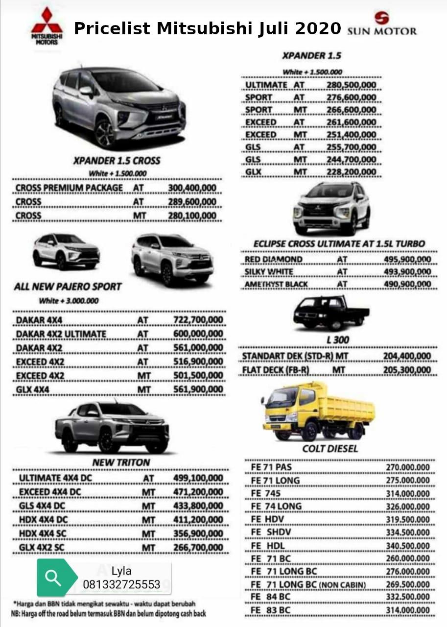 Price List Juli 2020
