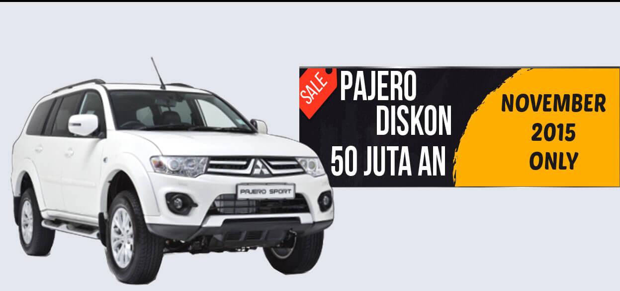 Promo Pajero Diskon 50 Jt Hanya Bulan November 2015 Dealer Mitsubishi Surabaya